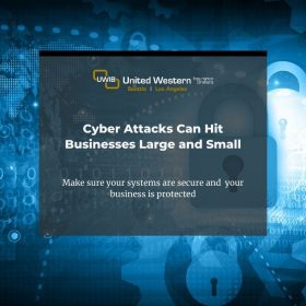 A title image for a blog post on cyber security